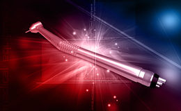 Dental handpiece Royalty Free Stock Images