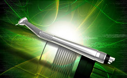 Dental handpiece Royalty Free Stock Photo