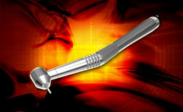 Dental handpiece Royalty Free Stock Photo