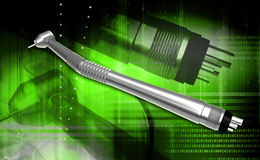 Dental handpiece Royalty Free Stock Image