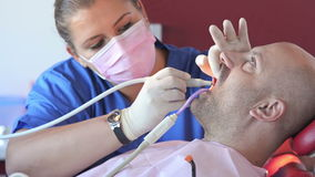Dental health care stock video