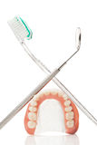 Dental hygiene. Royalty Free Stock Photography