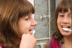 Dental hygiene stock photo