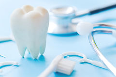 Dental hygiene background royalty free stock image