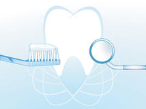 Dental hygiene illustration  Stock Image