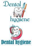 Dental hygiene logo Stock Photos