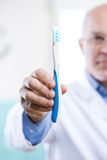 Dental hygiene and prevention Stock Photo