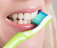 Dental hygiene of your mouth Royalty Free Stock Photos