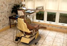 Dental Hygienist Chair Stock Images