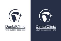 Dental icon set Stock Photo