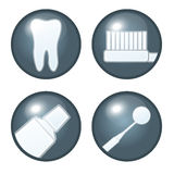 Dental Icons Royalty Free Stock Images