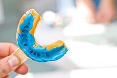 Dental imprint Royalty Free Stock Image