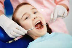 Dental inspection Royalty Free Stock Photo