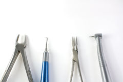 Dental instruments Stock Image
