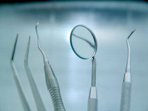 Dental Instruments Stock Photography