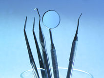 Dental Instruments Royalty Free Stock Photography