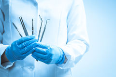 Dental instruments Royalty Free Stock Image