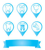 Dental labels Stock Photography