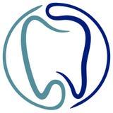 Dental logo Royalty Free Stock Photography