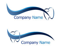 Dental logo Royalty Free Stock Photo