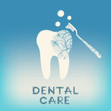 Dental logo design Stock Photography