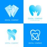 Dental logo icon design template elements Royalty Free Stock Image