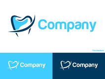 Dental logo. Please look at my other logos (icons Royalty Free Stock Photography