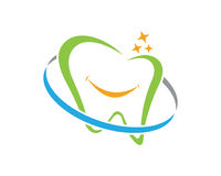 Dental logo Template vector Stock Images