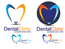 Dental logo Stock Image