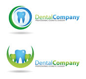 Dental Logos. Several design elements, which can be used for your company logo Stock Images