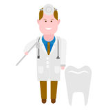 Dental medic Royalty Free Stock Image