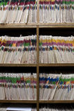 Dental or Medical Records Room Royalty Free Stock Photo