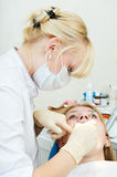 Dental medical treatment Royalty Free Stock Photography