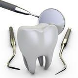 Dental mirror Royalty Free Stock Photos