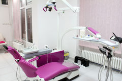 Dental office with equipment Royalty Free Stock Photo