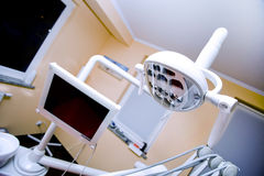 Dental office, lamp Stock Images