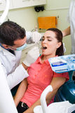 Dental operation Stock Photo