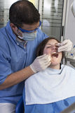 Dental operation Stock Image