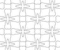 Dental pattern. Stock Photos