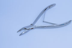 Dental pliers isolated Royalty Free Stock Photos