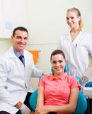 Dental practice Royalty Free Stock Photos
