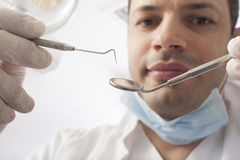 Dental profession Stock Image