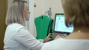 Dental X-Ray Scanner and Patient. Dental X-Ray Scanner and woman Patient consultation stock video