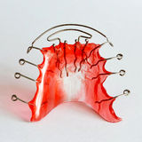 Dental retainer Stock Image