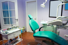 Dental room. Office in the medical clinic royalty free stock images