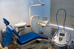 Dental room. Office in the medical clinic royalty free stock photo