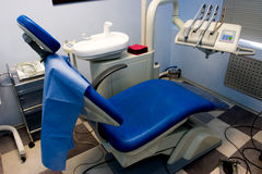 Dental room. Office in the medical clinic royalty free stock image