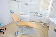Dental room. The image of a dental room stock image