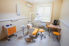 A dental room. The image of a dental room royalty free stock images