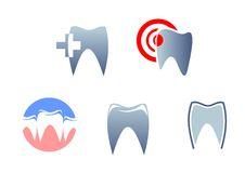 Dental signs Royalty Free Stock Image